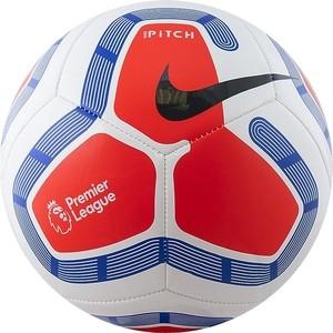Мяч футбольный Nike Pitch PL SC3569-101, р.5, бело-сине-красный