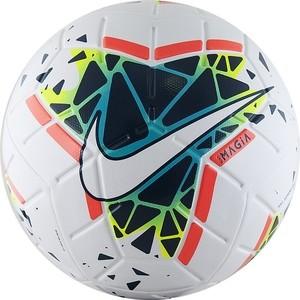 Мяч футбольный Nike NIKE Magia IIISC3622-100, р.5, FIFA Quality Pro (FIFA Appr), бело-черно-желто-коралловый