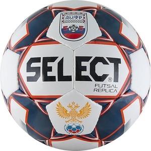 цена на Мяч футзальный Select Futsal Replica850618-172, р.4, бело-син-красный
