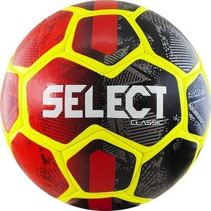Мяч футбольный Select Classic 815316-331, р.5, ДИЗ19, красно-желто-черный