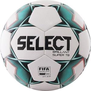 Мяч футбольный Select Brillant Super FIFA TB 810316-004, р.5, бело-зелено-черный велогибрид kupper unicorn зелено черный