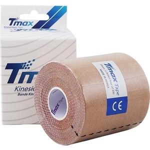 Тейп кинезиологический Tmax Extra Sticky Biege (7,5 см x 5 м), 423914, телесный