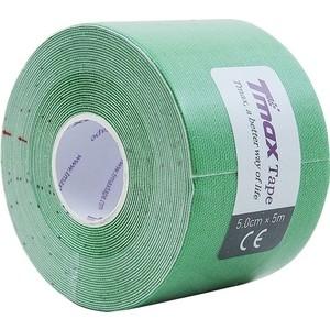 Тейп кинезиологический Tmax Extra Sticky Green (5 см x 5 м), 423181, зеленый