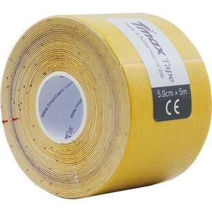 Тейп кинезиологический Tmax Extra Sticky Yellow (5 см x 5 м), 423174, желтый