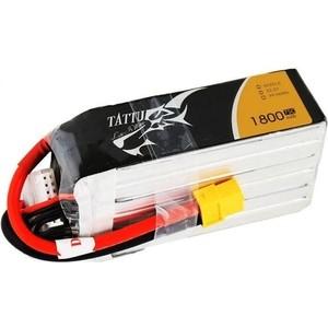 Аккумулятор Gens LiPo - 22.2В 1800mAh 75C (6S, XT60) TATTU GensAce TA-75C-1800-6S1P-XT60