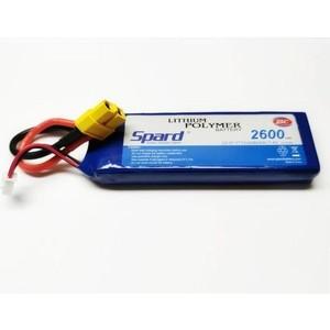 Аккумулятор Spard Li-Po 7.4V 2600mAh, 25C, XT60 - YT81203
