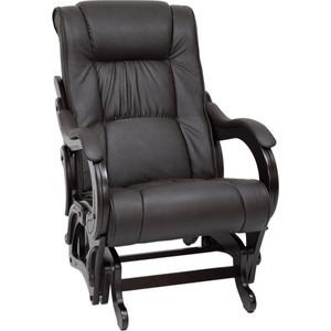 Кресло-качалка глайдер Мебель Импэкс Модель 78 люкс венге/ dundi 108