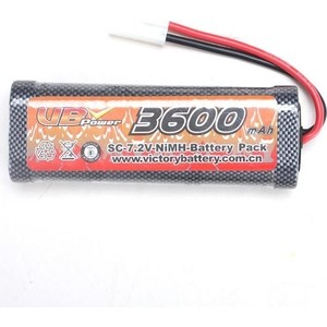 Аккумулятор Remo Hobby Ni-Mh 7.2V 3600 mAh, Tamiya - E9232