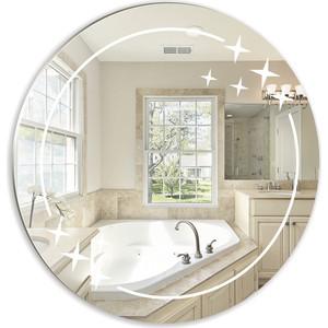 Зеркало Mixline Звезда 58х58 круглое (4620001982073) зеркало круглое alaria