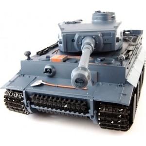 Радиоуправляемый танк Heng Long German Tiger масштаб 1:16 2.4G - 3818-1 Upg V6.0 радиоуправляемый танк taigen german tiger 1 metal edition late version масштаб 1 16 2 4g