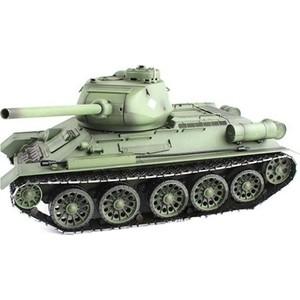 Радиоуправляемый танк Heng Long Russia T34-85 масштаб 1:16 2.4G - 3909-1 V6.0
