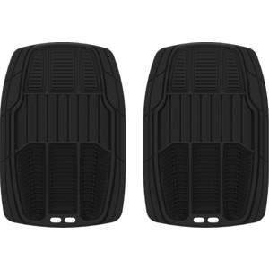Коврики салона Michelin универсальные, 2 шт., премиум, черные