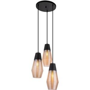 Подвесной светильник Globo 15043-3 подвесной светильник globo new 6905 3 бронза