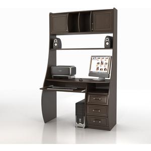 Стол компьютерный ТД Ная Прямой КС-1К Беркут венге