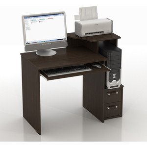 Стол компьютерный ТД Ная Прямой КС-10 Колибри венге