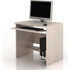 Стол компьютерный ТД Ная Прямой КС-25 Корелла дуб беленый