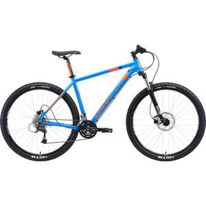 Велосипед Stark Armer 29.6 HD (2019) голубой/оранжевый 18