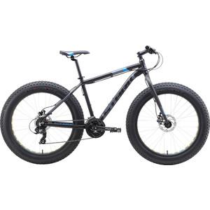 Велосипед Stark 19 Fat 26.2 HD чёрный/голубой/серый 20