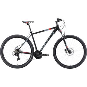 Велосипед Stark Hunter 29.2 D (2019) чёрный/серый/красный 20