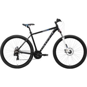 Велосипед Stark Hunter 29.2 D (2019) чёрный/серый/синий 20