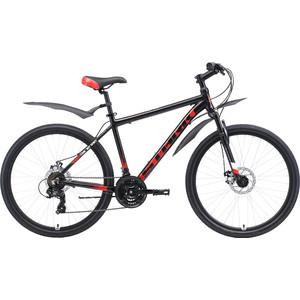 Велосипед Stark 19 Indy 26.1 D чёрный/красный/белый 18 цена