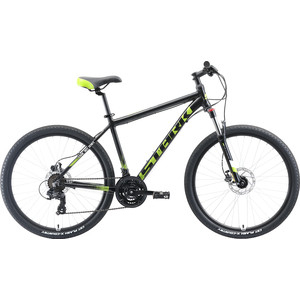 Велосипед Stark 19 Indy 26.2 HD чёрный/зелёный/белый 16 цена