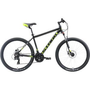 Велосипед Stark 19 Indy 26.2 HD чёрный/зелёный/белый 18 цена