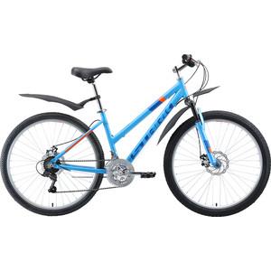 Велосипед Stark 19 Luna 26.1 D голубой/синий/оранжевый 14,5 цена