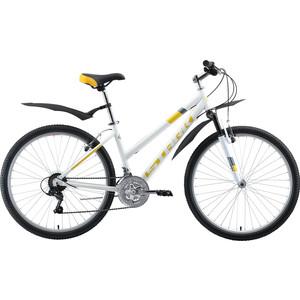 Велосипед Stark Luna 26.1 V (2019) белый/жёлтый/серый 18