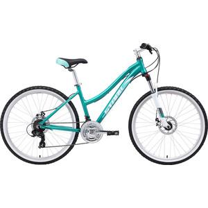 Велосипед Stark Luna 26.2 D (2019) бирюзовый/белый 14,5