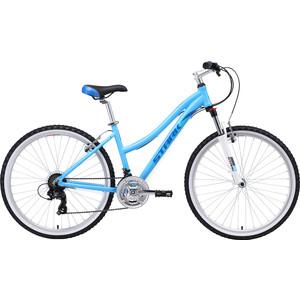 Велосипед Stark Luna 26.2 V (2019) голубой/бирюзовый 18