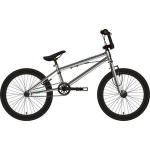 Велосипед Stark 19 Madness BMX 2 серебристый/зелёный