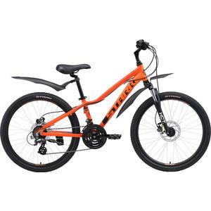 Велосипед Stark Rocket 24.3 HD оранжевый/чёрный