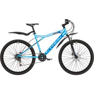 Велосипед Stark Slash 26.1 D (2019) небесно-голубой/серый/чёрный 18