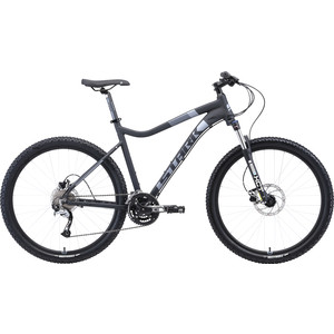 Велосипед Stark 19 Tactic 27.5 HD чёрный/серый 18