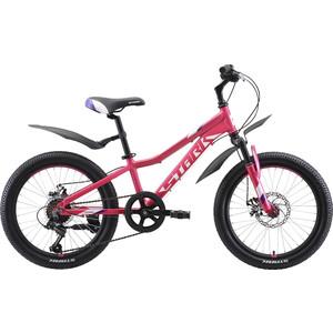 Велосипед Stark Bliss 20.1 D розовый/фиолетовый/белый