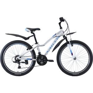Велосипед Stark 20 Bliss 24.1 V белый/бирюзовый/фиолетовый велосипед stark 20 foxy 14 girl бирюзовый розовый