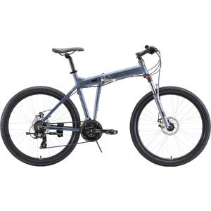 Велосипед Stark 20 Cobra 26.2 D (2019) серый/черный 20