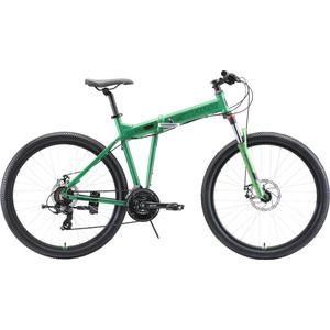 Велосипед Stark Cobra 27.2 D (2020) зелёный/чёрный 20