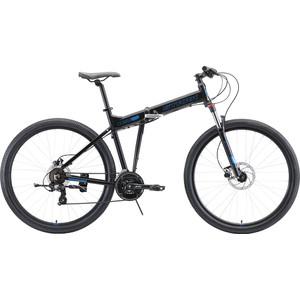 цена на Велосипед Stark 20 Cobra 29.2 HD (2020) чёрный/голубой 18