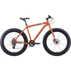 Велосипед Stark Fat 26.2 D (2020) оранжевый/серый/белый 18