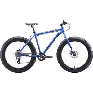 Велосипед Stark Fat 26.2 HD (2020) голубой/черный/белый 20