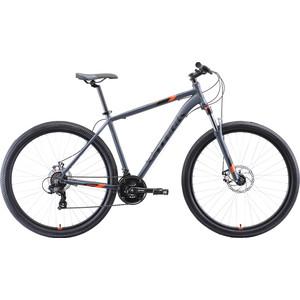 Велосипед Stark Hunter 29.2 D (2020) серый/чёрный/оранжевый 20