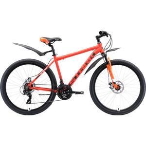 Велосипед Stark Indy 26.1 D Shimano (2020) оранжевый/белый/чёрный 20