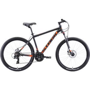 Велосипед Stark Indy 26.2 D (2020) чёрный/оранжевый/белый 18