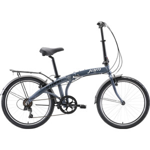 Велосипед Stark Jam 24.2 V серебристый/чёрный/серый