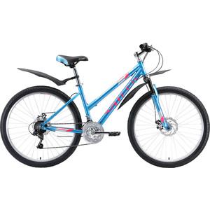 Велосипед Stark Luna 26.1 D (2020) голубой/розовый/серебристый 16