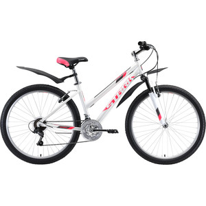 Велосипед Stark Luna 26.1 V (2020) белый/розовый/серый 16