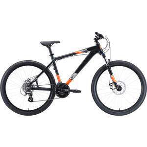 Велосипед Stark Shooter 1 (2020) чёрный/белый/оранжевый 18