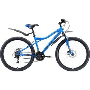 Велосипед Stark Slash 26.1 D (2020) голубой/чёрный/серый 14,5